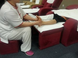 Reflexology (With Foot Bath)